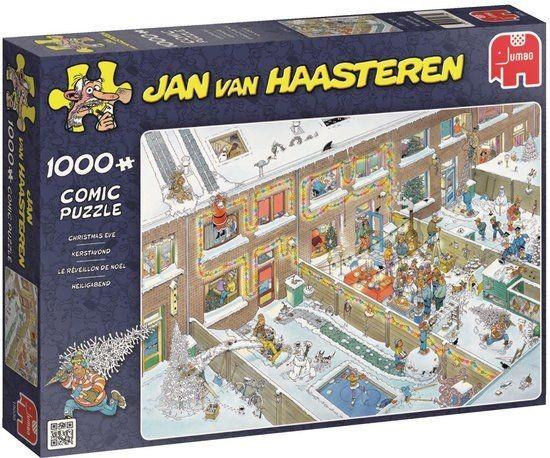 Jumbo Puzzel Jan Van Haasteren Kerstavond (1000)