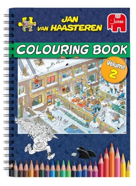 Jumbo Kleurboek Jan Van Haasteren Deel 2
