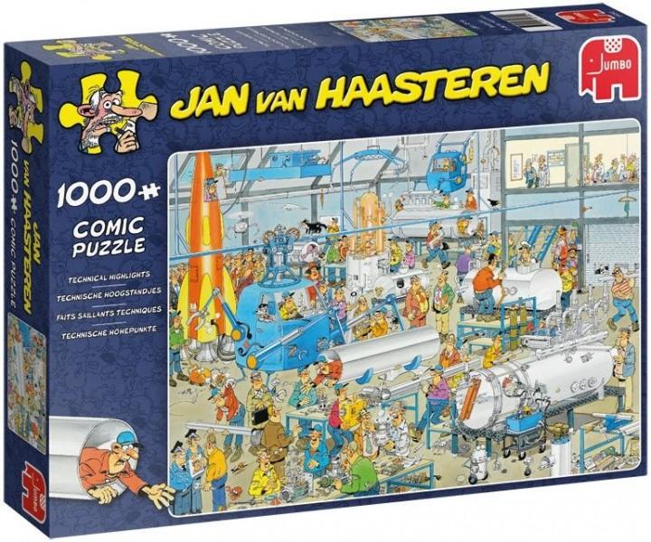 Jumbo Puzzel Jan Van Haasteren Technische Hoogstandjes 1000 Stukjes