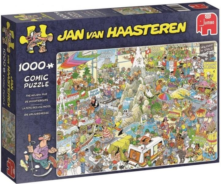 Jan van Haasteren De vakantiebeurs 1000 stukjes
