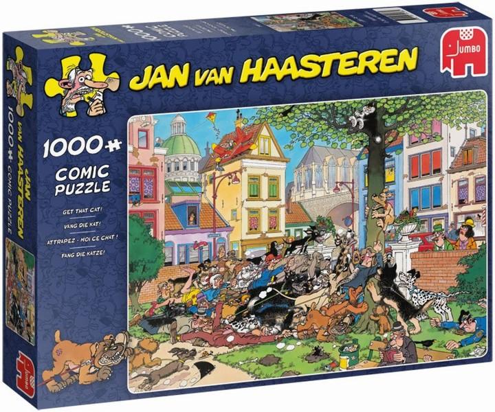 Jan van Haasteren Vang die kat 1000 stukjes