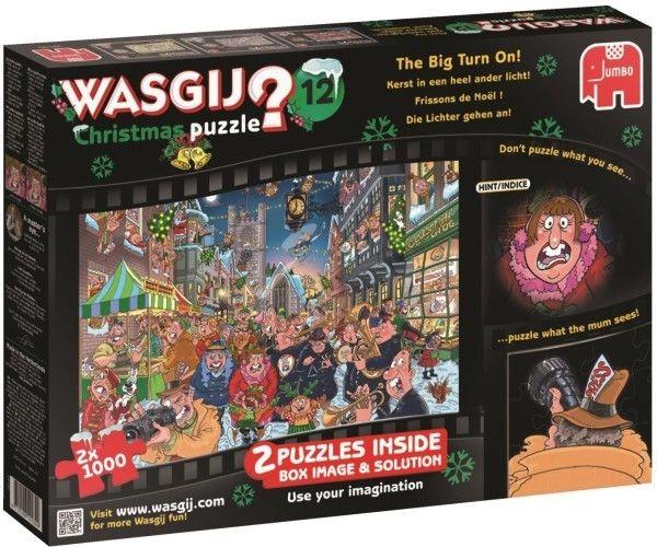 Jumbo puzzel Wasgij Christmas 12 (2x1000)