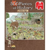 Jumbo Puzzel Pieces of History Stone Age (500)