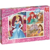 Jumbo Puzzel Princess XL (100)