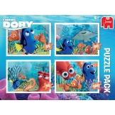 Disney Finding Dory Puzzel 4in1 Bumper Pack