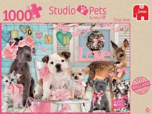 Jumbo Puzzel Studio Pets True Love (1000)
