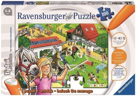 Ravensburger TipToi Puzzel 100 XL Manege