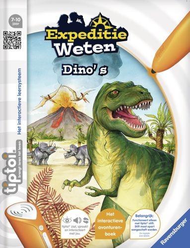 Ravensburger TipToi Boek Dino's