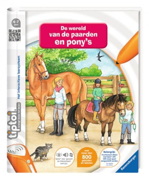 Ravensburger TipToi Boek De wereld van de Paarden en Pony's