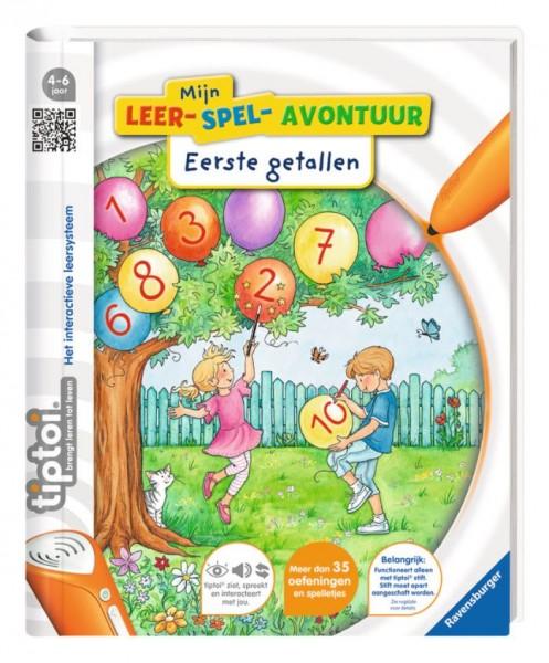 Ravensburger TipToi Boek Mijn leer-spel-avontuur: Eerste getallen