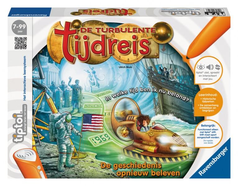 Ravensburger TipToi Spel De Turbulente Tijdreis