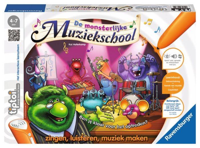 Ravensburger TipToi Spel De Monsterlijke Muziekschool
