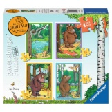 Ravensburger Puzzel De Gruffalo 4in1 Box