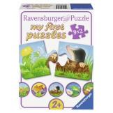 Ravensburger puzzel Garden Animals (9x2)