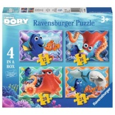 Ravensburger Puzzels Finding Dory (12+16+20+24)
