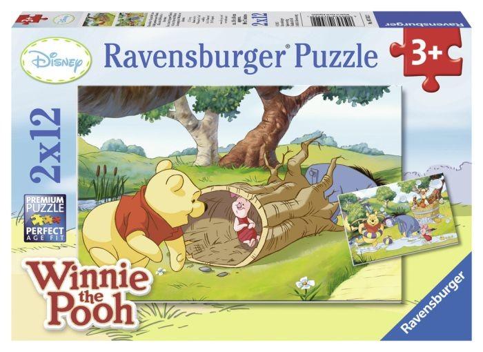 Ravensburger Puzzel Winnie the Pooh Een mooie dag met Winnie (2x12)
