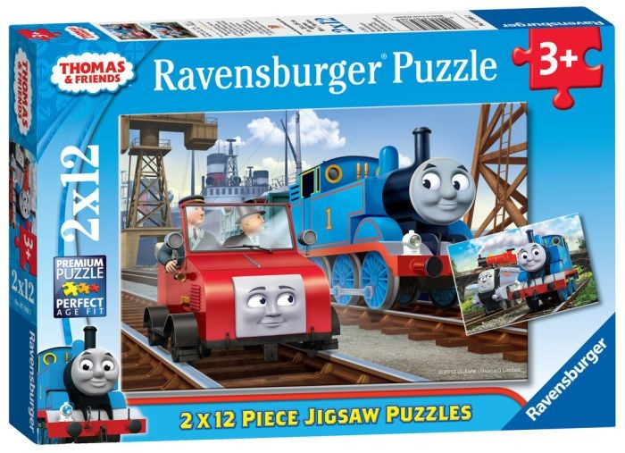 Ravensburger puzzel Thomas and Friends (2x12)