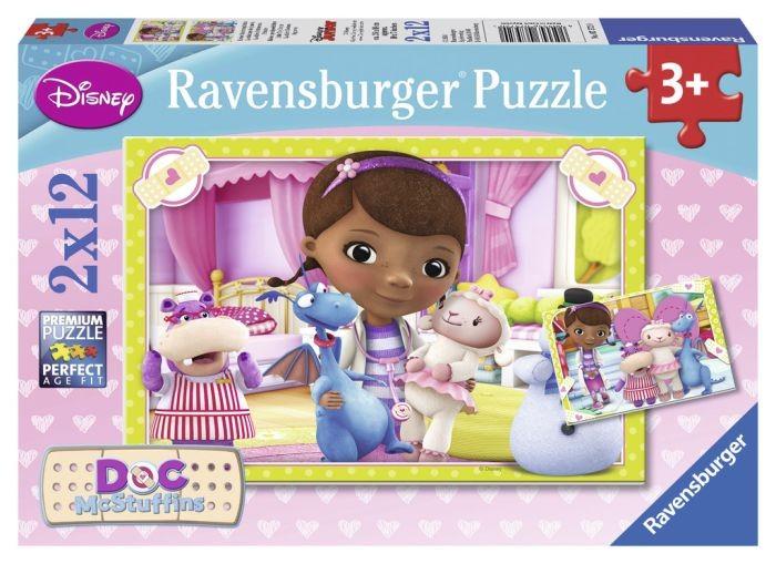 Ravensburger puzzel DocMcStuffins Kleine Speelgoeddokter (2x12)