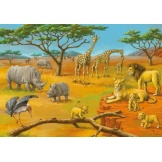 Ravensburger Puzzel In de wildernis (2x20)