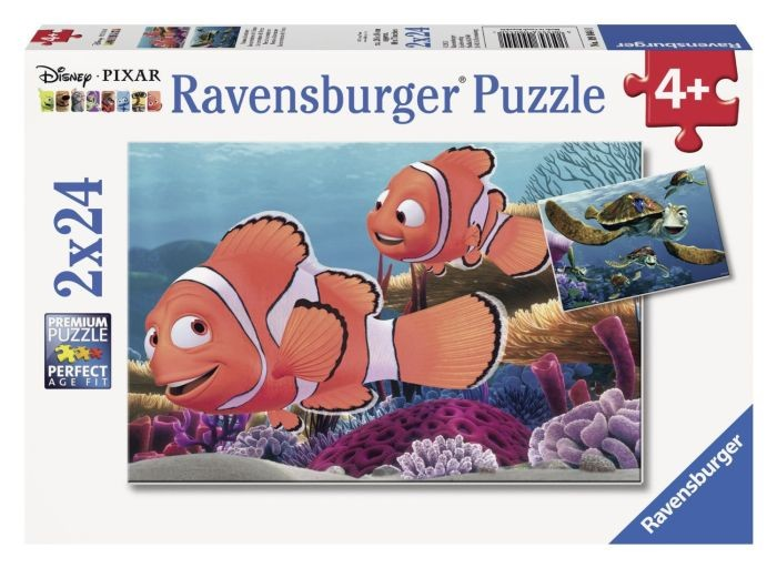 Ravensburger Puzzel Nemo's Avonturen (2x24)
