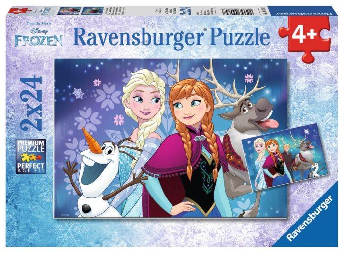 Ravensburger Puzzel Frozen - Noorderlichten (2x24)