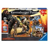 Ravensburger Puzzel Dragons (3x49)