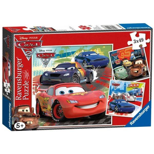 Puzzel Cars 2- wereldwijde race pret (3x49)
