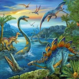 Puzzel Dinosauriers (3x49)