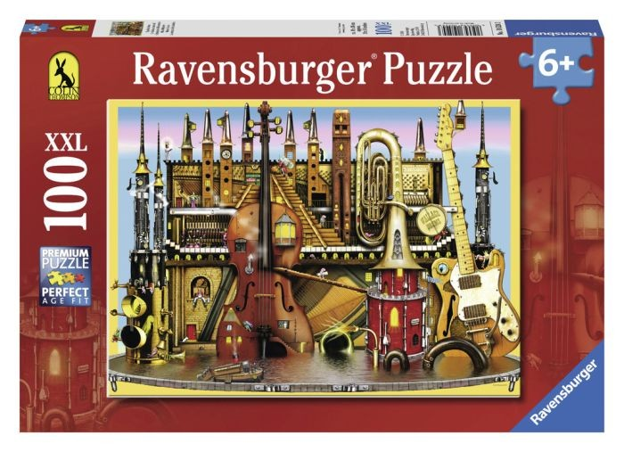 Ravensburger puzzel Colin Thompson Music Castle (100 XXL) Ravensburger