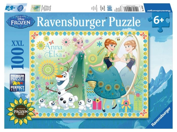 Ravensburger 100 Stuks XXL Puzzel Disney Frozen Fever