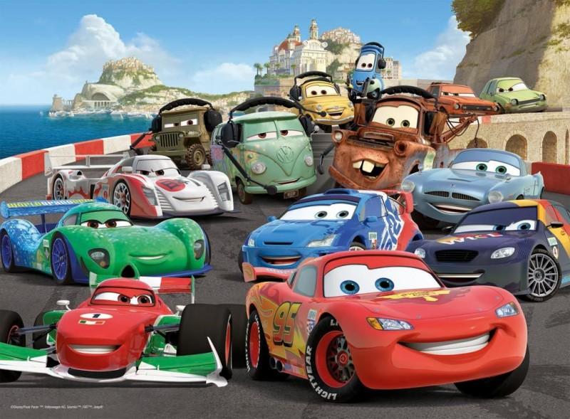 Ravensburger puzzel xxl cars 2 explosieve race 100 - Image de cars ...