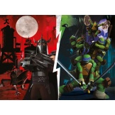 Ravensburger Puzzel Ninja Turtles tegen Shredder (100)