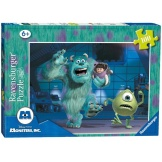 Ravensburger Puzzel Monsters University Sulley Mike en Boo (100)