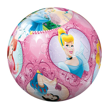 Bekende merken gt ravensburger gt puzzleball gt puzzleball princess 24