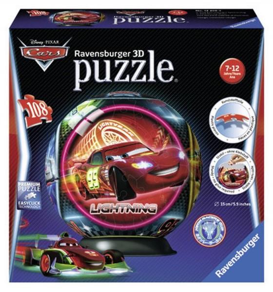 Ravensburger Disney Cars puzzleball 108 stukjes