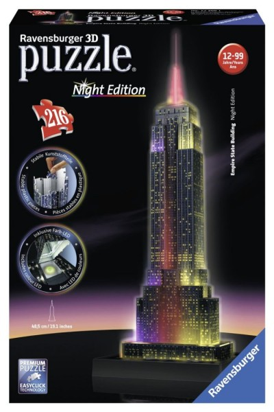 Ravensburger 3D Puzzel Empire State Building (216)