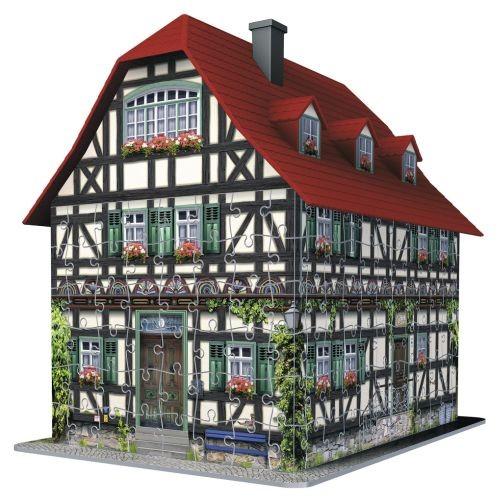 Ravensburger puzzel 3d huis middeleeuws 216