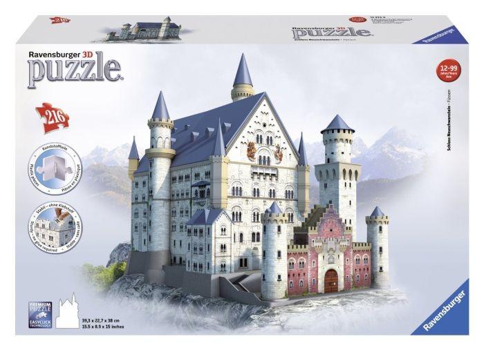 Ravensburger puzzel 3D Neuschwanstein (216)