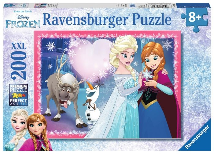 Ravensburger Puzzel Frozen - Zusterliefde (200 XL)