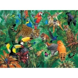 Puzzel wilde jungle (300)