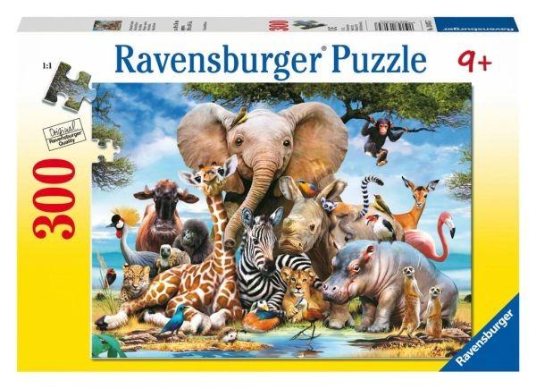 Puzzel Afrikaanse Vrienden (300)