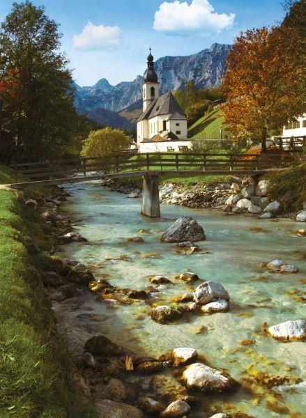 Puzze: Parochiekerk Ramsau (500) Ravensburger