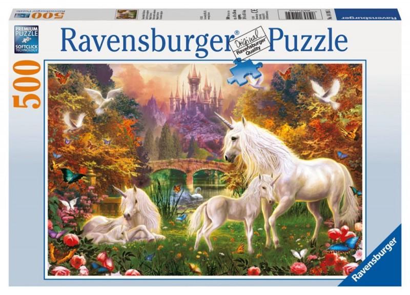 Ravensburger Puzzel Betoverende Eenhoorn (500)