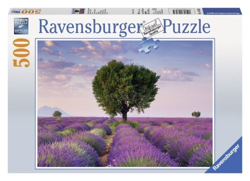 Ravensburger puzzel Valensole Zuid-Frankrijk (500) Ravensburger
