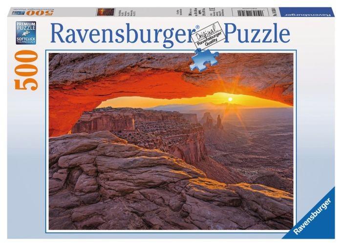 Ravensburger puzzel island sky (500) Ravensburger