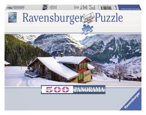 Ravensburger puzzel Winterlandschap Panorama (500)
