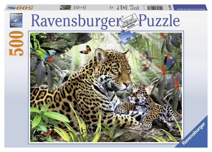 Ravensburger puzzel Jaguar (500) Ravensburger
