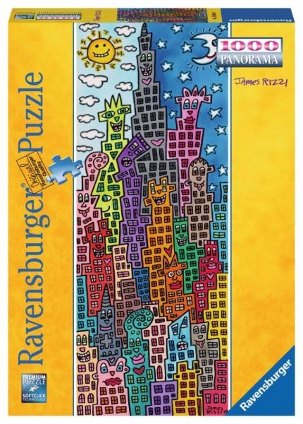 Ravensburger Puzzel Rizzi fun sun righ (1000)