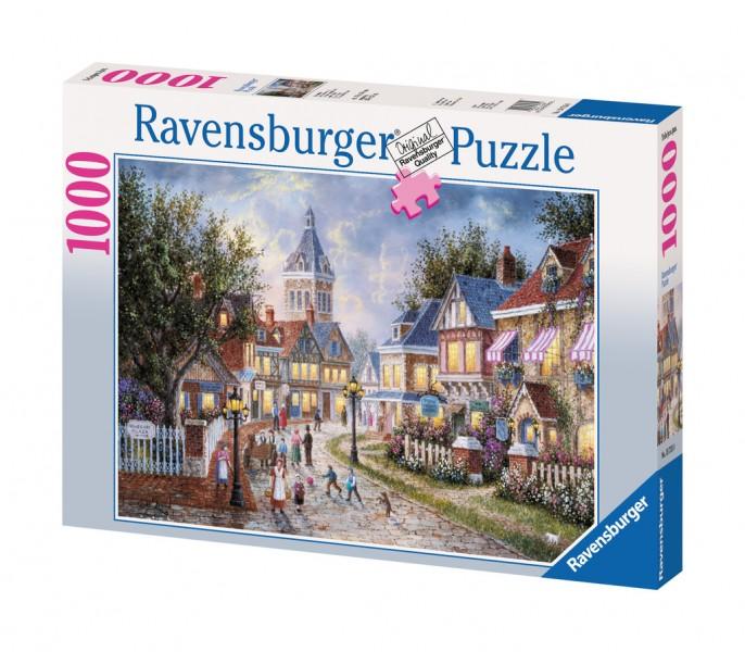 Ravensburger puzzel dennis lewan, berenwolken (1000) Ravensburger