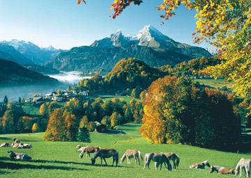 Puzzel Berchtesgaden aan Watzmann (1000)